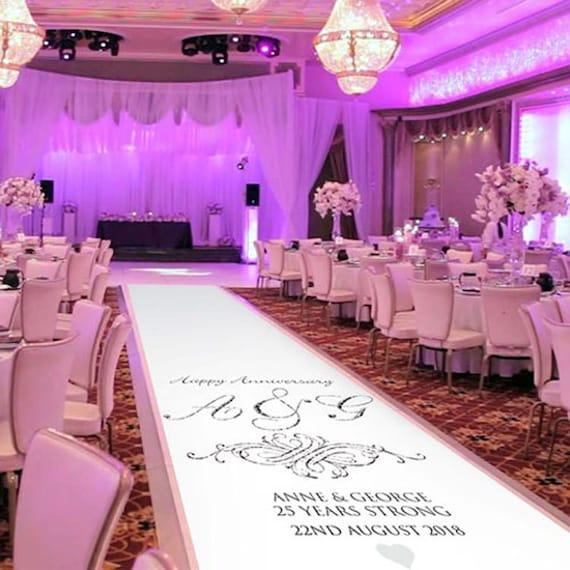 Happy Anniversary -  Venue Carpet Decoration