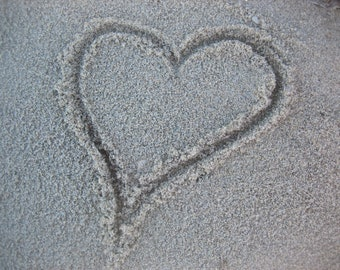 Heart in Sand Photography. Beach Photography. Photography Backdrop. Beach Decor. Love Photography. Love Wallpaper. Love Beach Background