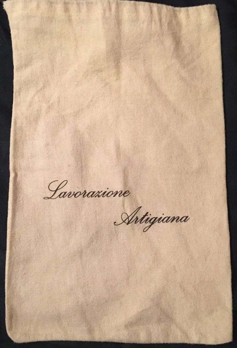 7ef45fa25a877 Lavorazione Artigiana Authentic Small Drawstring Dust Bag Cover 9