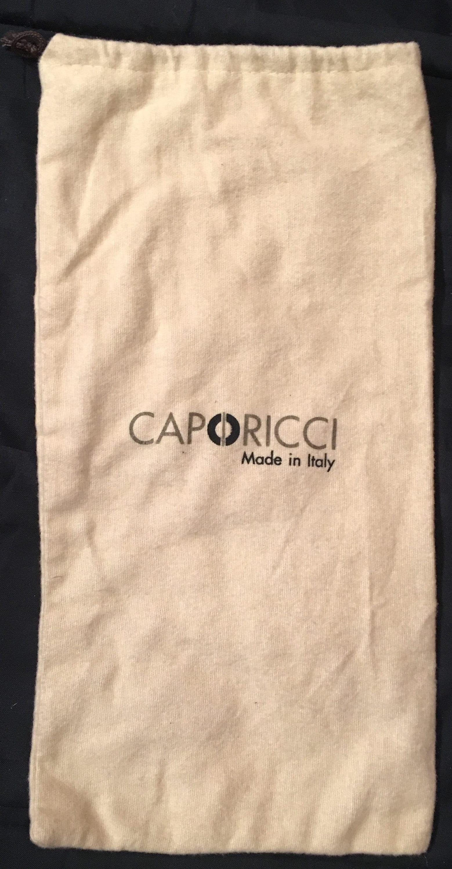 ec6441dc99112 Caporicci Authentic Beige Small Drawstring Dust Bag Size 7 1/2