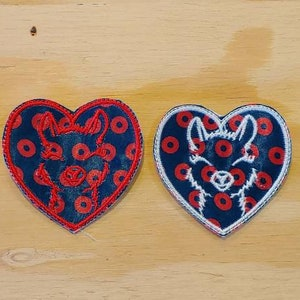 I love Donuts sew on patch Phish Phan Art patches Fishman donut print fabric