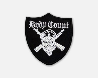 Body Count embroidered patch