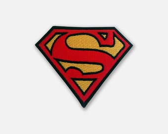 Embroidered patch of Superman Emblem