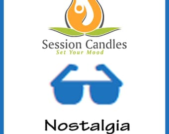 Session Candles - Nostalgia Scents - 100% Soy Hand Poured Wax Melt