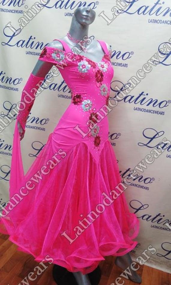 Robe de compétition bal latino (LAB2640)