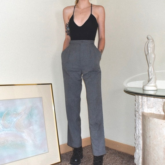 Vintage Gray Trousers - W25