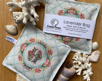 """Relax, Rest & Revive Lavender Bag, 100% English Lavender """"Today's Catch"""""""