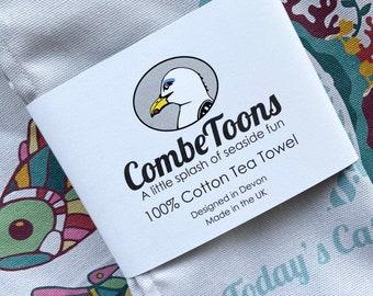 Today's Catch 100% Cotton Tea Towel