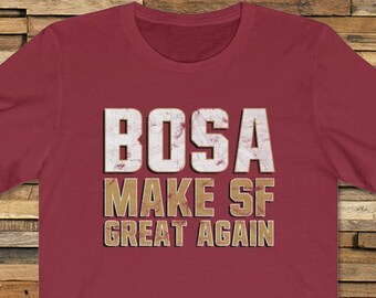 cb846129 Nick Bosa T-Shirt for fans of San Francisco 49ers Niners Nation 2019 2nd  Draft Pick Jimmy Garoppolo Richard Sherman Unisex Tee Shirt TShirt