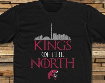 3fc1dbe1ce1 Toronto Raptors Fan T-Shirt Kings of the North Playoffs Finals Basketball  2019 '19 Canada We the North GOT Vince Carter Tee Shirt TShirt