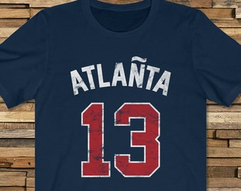 reputable site 6227f 8a46c Ozzie Albies & Ronald Acuna '19 T-Shirt for Braves fans ...