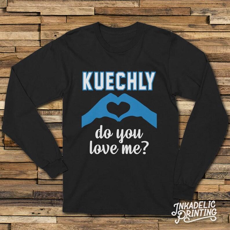 cheap for discount c383b f60da Luke Kuechly, Do You Love Me? // Carolina Football 704 Charlotte // Funny  Kiki Keke Viral Parody // Long Sleeve Unisex T-Shirt