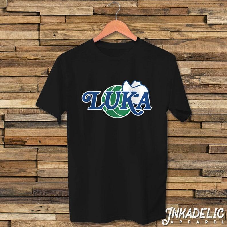 size 40 14211 44c1c Luka Doncic Fans T-Shirt Dallas Basketball Mavs Mavericks Retro Logo  Inspired Unisex Tee Shirt // Dirk Nowitzki // Texas Bball // TShirt