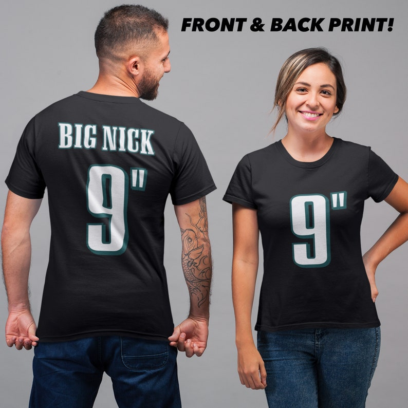 9731f74acf8 Nick Foles 9 Inches Big Nick Funny Eagles Style T-Shirt // | Etsy