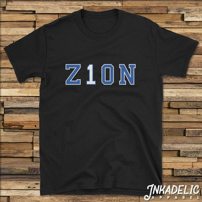 06b69403d76f Z1ON T-Shirt for Zion Williamson   Duke Blue Devils Basketball