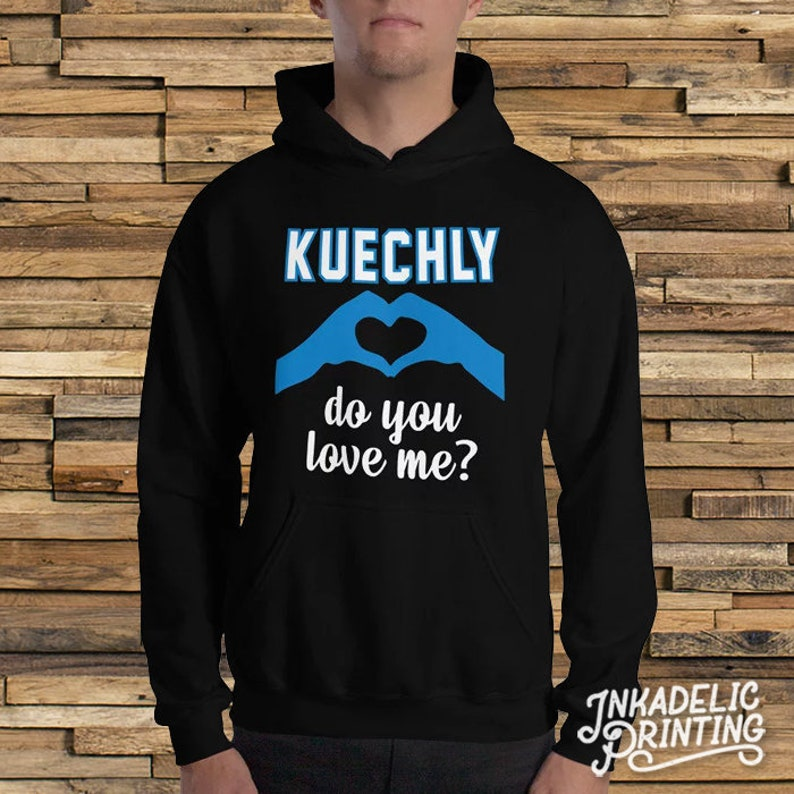 best website f4465 afb77 Luke Kuechly, Do You Love Me? // Carolina Football // North Carolina South  Carolina // Funny Kiki Keke // Parody Hooded Sweatshirt Hoodie
