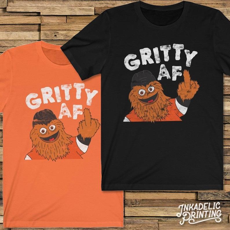 Gritty AF    Funny Philadelphia Hockey Mascot Unisex T-Shirt  949e3bf99