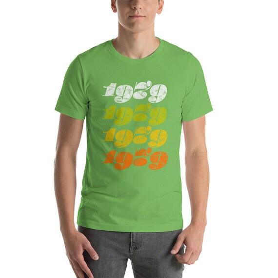 1979 typographie rétro funky T-Shirt unisexe-jeu de couleurs couleurs de pour le Style Vintage 70 ' s Cool f47c4c