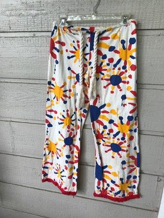 Vintage girls  Hang Ten  surfer  skater  california womens  1980s pajama bottoms- large