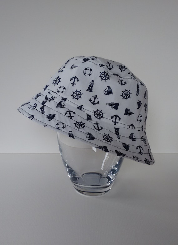 Bucket Hat Reversible 100% Cotton  165be4f46e9