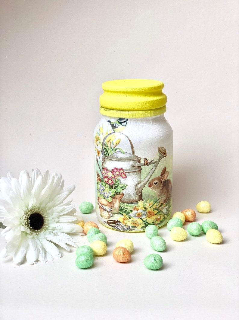 Easter Light Jar Spring Gift Nana Gift Best Friend Gift Etsy