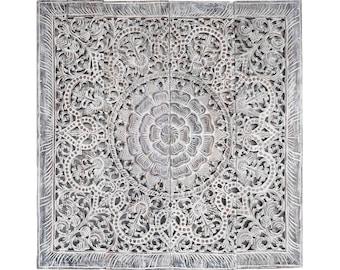 Superbe More Colors. Mandala Wall Art Wood Carving ...