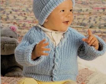 Baby Knitting Pattern DK Jarol 1041