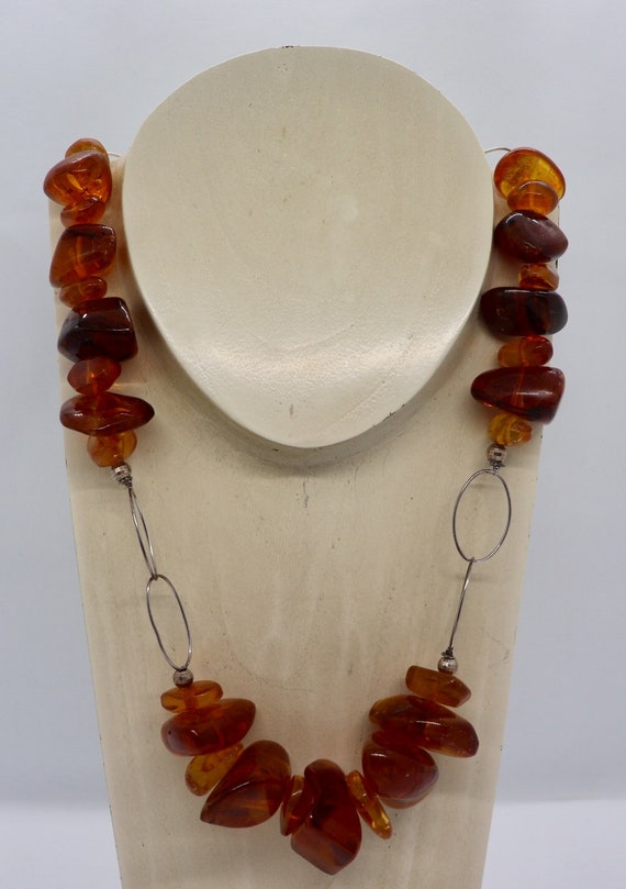 Authentic Amber Necklace 1960