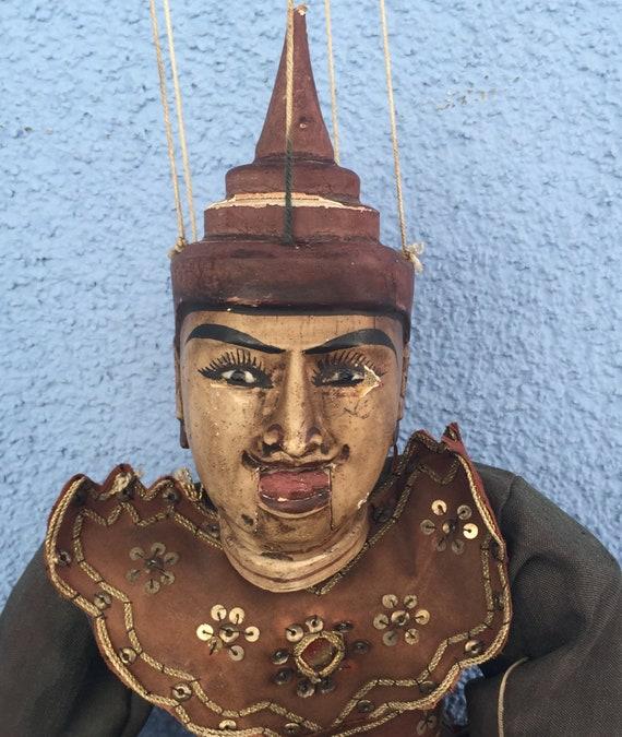 Myanmar/Burmese Vintage Puppet - Marionette