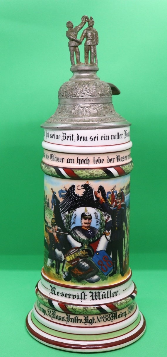 Kaiser Wilhelm 11 Artillery Resevisten Krug
