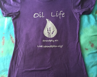 Women's cut Oil Life T-shirt