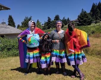 Rainbow Pride Skirt