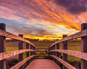 Caister Sunset