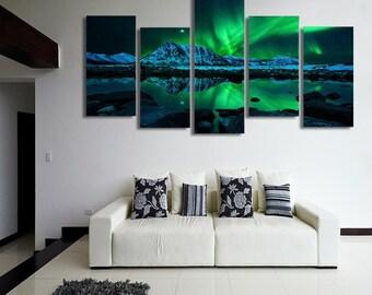 multi panel wall art etsy
