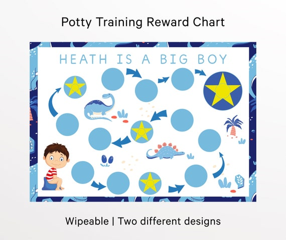 reward charts for toilet training