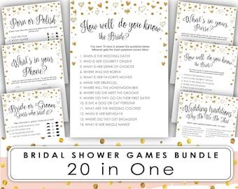 bridal shower game bridal shower games printable bridal shower games free how well do you know the bride instant download