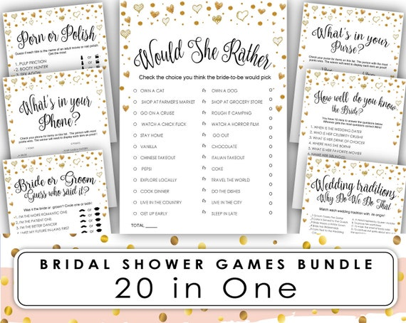 Bridal Shower Games Bundle Marsala Burgundy Blush and Rose Gold Editable Games Bridal Shower Games Rose Gold Bridal Shower Games