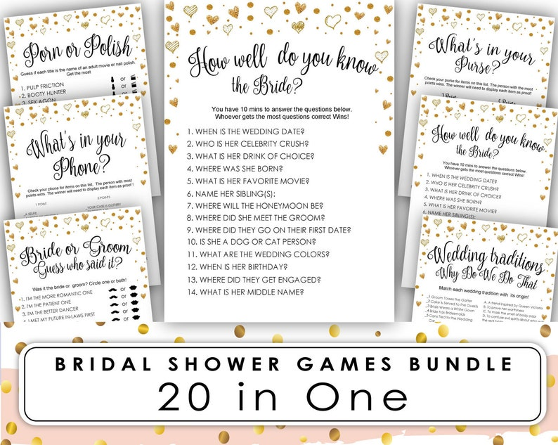 image relating to Free Printable Bridal Shower Games What's in Your Purse called Bridal Shower Recreation . Bridal Shower Game titles Printable . Bridal Shower Online games . totally free How Effectively Do Yourself Understand the Bride Immediate Obtain