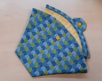 reusable coffee filter set with pocket