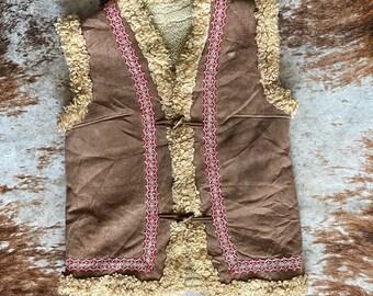 Vintage 70s Afghan Vest
