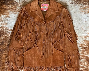 Vintage Ms Pioneer Fringe Jacket