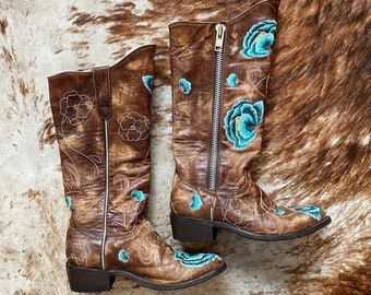 Vintage Mexicana Western Boots