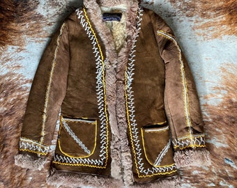 Vintage 70s Afghan Coat