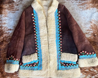 Vintage 60s Afghan Coat