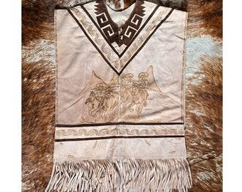 Vintage Mexican Poncho