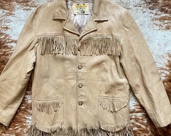 Vintage Deerskin 60s Fringe Jacket