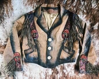 Vintage Stars and Stripes Jacket