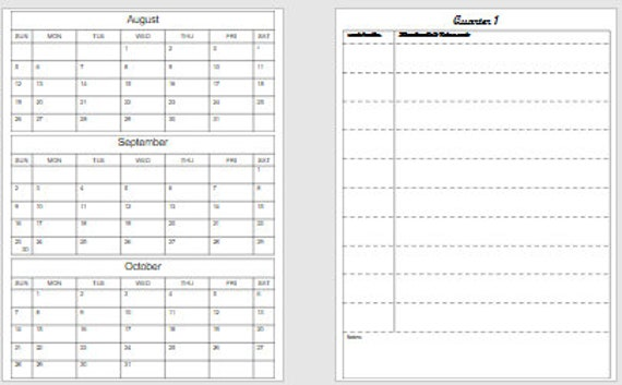 Editierbare Lektion Planung Vorlage PPT | Etsy