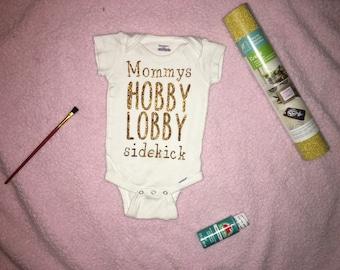 Mommys hobby lobby sidekick baby onesie 434fbadfc0c