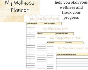 Ultimate Fibromyalgia Wellness Planning Kit